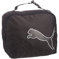 Puma Powercat Unisex para adulto de 5–10Wash Classic bolsas Negro negro y blanco Talla:H 20cms, W 23cms, D 11cms