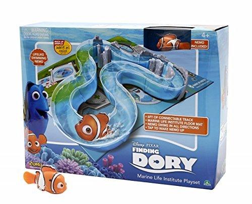 Chirurg Fisch (Giochi Preziosi–Finding Dory Spiel Tisch mit Rennstrecke Wasserfilter, inklusive Nemo Figur Interaktives)