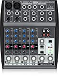 Behringer XENYX 802 mixer audio per DJ, studio e karaoke, Rumore ultra basso