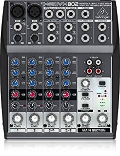 Behringer 802 8 Input 2 Bus Mixer (B000J5XS3C) | Amazon Products