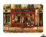 Medium Premium tagliere in vetro-Cafe de Paris design Kitchen Worktop Saver Protector
