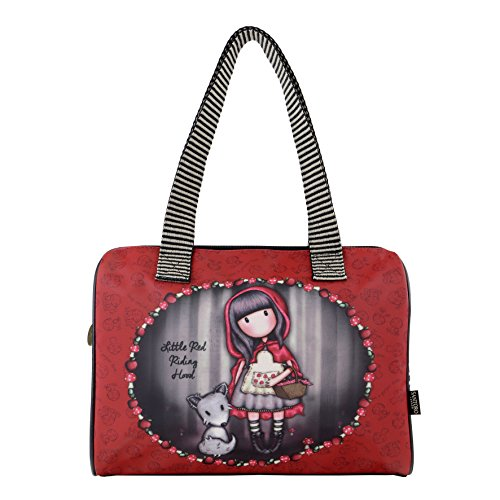 Santoro Gorjuss Sac à main Little Red Riding Hood Sac baril 41 x 26 x 9 cm