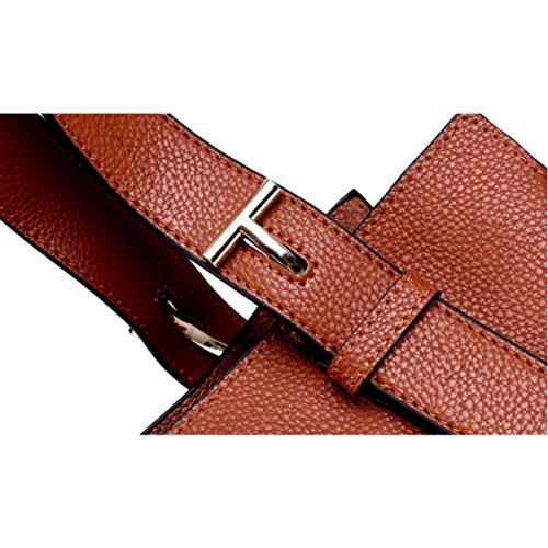 Damen Umhängetasche Mode-Diagonal-Paket Mit Hoher Kapazität Handtasche Red