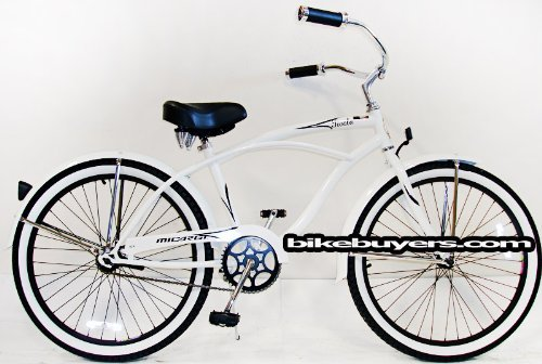 micargi-tivola-1-speed-24-for-men-white-beach-cruiser-bike-schwinn-nirve-firmstrong-style-by-micargi