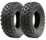Par de neumáticos Slasher Quad, 21x7-10 Wanda Raza neumático E Marcado neumáticos 21 7 10