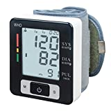 KEDSUM Electric Digital Wrist Blood Pressure Monitor Cuff with Ninety  Memory Capacity Two User Modes FDA Certified,Doctor Tested and Endorsed,Buit-in Large LCD Display