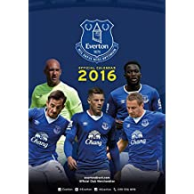 The Official Everton 2016 A3 Calendar