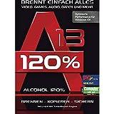 N/A Alcohol 120% Version 13 Vollversion, 1 Lizenz Windows Brenn-Software
