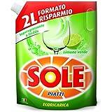 Soleil Lessive Liquide ecoricarica assiettes Lemon–2kg
