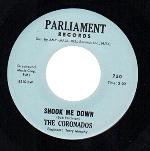 johnny b. goode / shook me down 45 rpm single (Coronado Single)