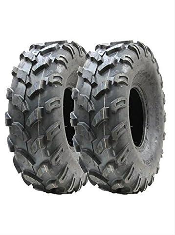 2 nouveaux pneus Quad 21X7-8 6ply WANDA 'E' Marqué entièrement
