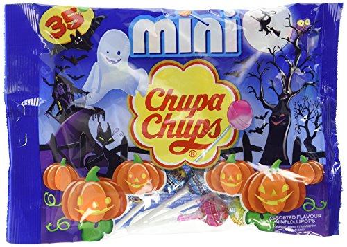 n Mini Lutscher | Geschmacksrichtungen • Orange • Erdbeere • Apfel • Kirsche • Cola | 8 x 35er Beutel Lollis (Halloween-mix-getränke Für Die Party)