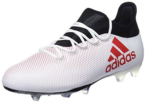 adidas Herren X 17.2 FG Fußballschuhe, Mehrfarbig (Greyreacorcblack), 43 1/3 EU