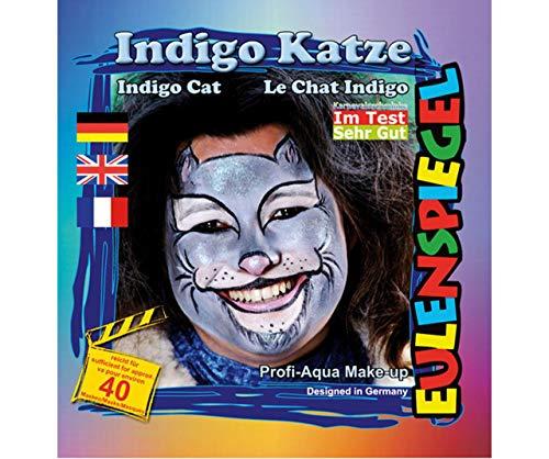 Festlegen Von Farben Für Face - Katze Indigo, Eulenspiegel, EU-204542