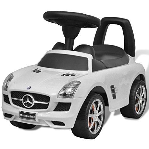 senluowx Mercedes Benz foot-powered Kinder Auto Weiß - Kids On Car Mercedes Ride