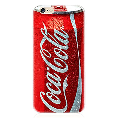 KoalaGroup® IPhone 6/6S (4.7-inch) Case,Ultrathin Product TPU Clear Tpu Cover:Pepsi/Audiotape/Red Lobster/Camouflage/Calculator/Coca Cola/Beer Case For iphone 6/6S (Coca Cola) Coca Cola