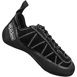 ALPIDEX Climbing Shoe SCAMPA NERO, Size:45