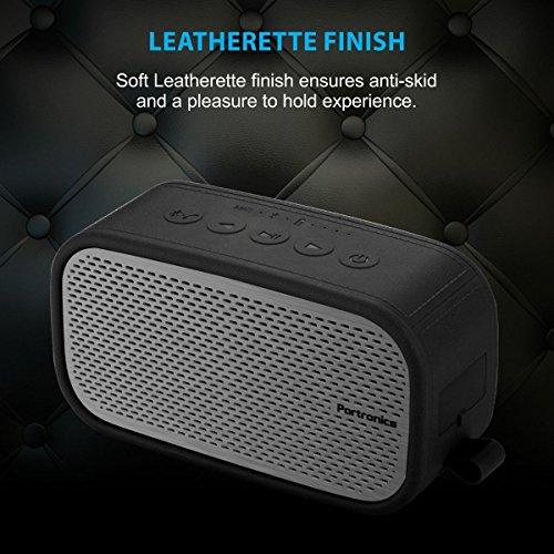 Portronics POR-568 Posh wireless Portable Bluetooth speaker ( Grey )