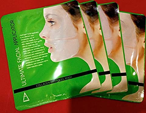 ULTIMATE COLLAGEN FACIAL APPLICATOR ,MASK FOR SKIN REJUVENATION 4 masks
