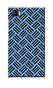 KanvasCases Printed Back Cover for Xiaomi Mi3 + Free Earphone Cable Organizer
