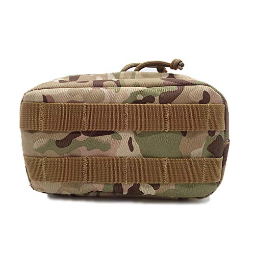 Ohyoulive Outdoor Traveling Molle Pouch 600D Nylon for Vest Sundries Camera Magazine Storage Bag