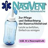 Nasivent Sinuscare - Nasendusche Starter Set inkl. 10 Beutel Nasenspülsalz