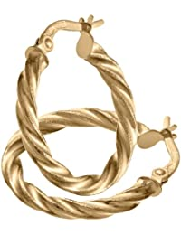 Citerna Damen-Creole 375 Gold 2 cm