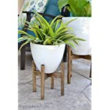 NAOE™ WOODEN PLANTER STAND (30 cm X 33cm X2.5cm) - (MEDIUM)
