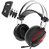 GAMDIAS Hebe E1 RGB Cuffie Gaming Headset USB , Altoparlanti 40mm , Microfono Omnidirezionale, Ergonomico, Smart Remote Controller