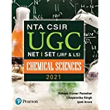 NTA CSIR UGC NET / SET (JRF & LS)  Chemical Sciences  2021  First Edition By Pearson