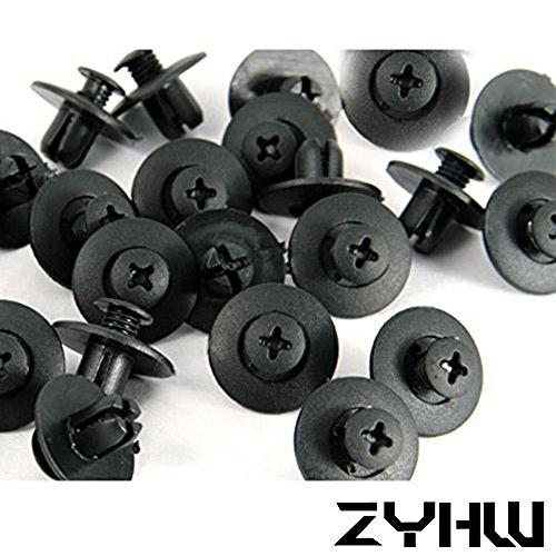 zyhw-8mm-40-pcs-pack-nylon-bumper-fender-flare-mud-flaps-guard-fastener-rivet-clips