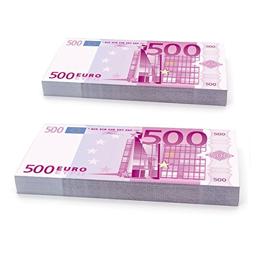 Plata O Plomo 200 x 500 € - Falshgeld Euro banknoten Spielgeld Scheine Specimen