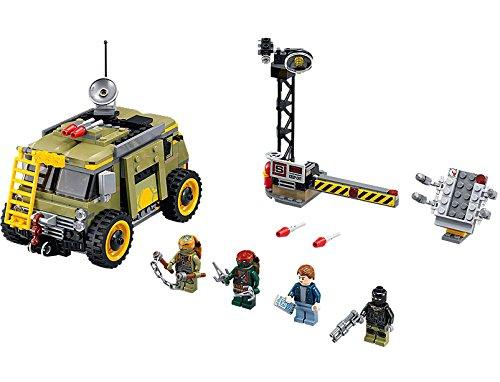LEGO Ninja Turtles Tm 79115 - Furgone In Pericolo