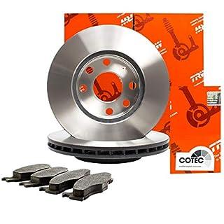 Trw Bremsscheiben ø256mm + Bremsbeläge Set Vorne