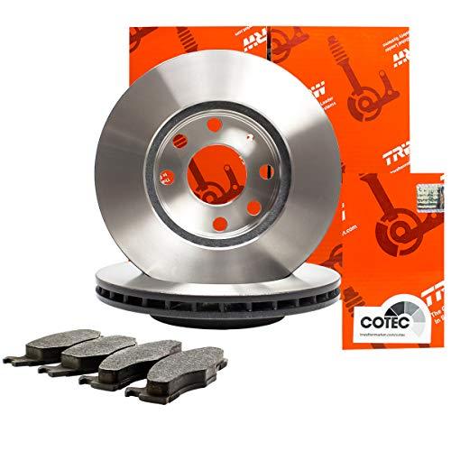 Trw Bremsscheiben ø286mm + Bremsbeläge Set Vorne