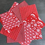 Fabric Freedom Scandi Red Christmas FFCS19