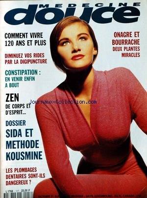 MEDECINE DOUCE [No 117] du 01/10/1991
