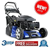 Hyundai HYM510SPER Self Propelled Electric Push Button Start 173cc Petrol Roller Lawn Mower