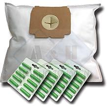 40 bolsas de aspiradora + 40 Aroma de varillas Adecuado para AEG Electrolux Vampyr: Ace