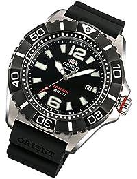 Orient M-Force Titanio Automático Caucho Banda Reloj de hombre Zafiro Fecha sdv01003b0