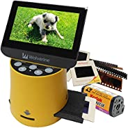 """Wolverine Titan 8-in-1 High Resolution Film to Digital Converter with 4.3"""" Screen and HDMI o"""