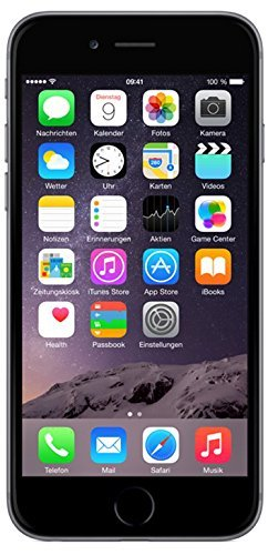 Gsm-iphone (Apple iPhone 6 Smartphone (4,7 Zoll (11,9 cm) Touch-Display, 32 GB Speicher, iOS 8) grau)