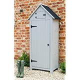 Wooden Sentry Apex Beach Hut Shed Storage Tool Utility Stone Garden