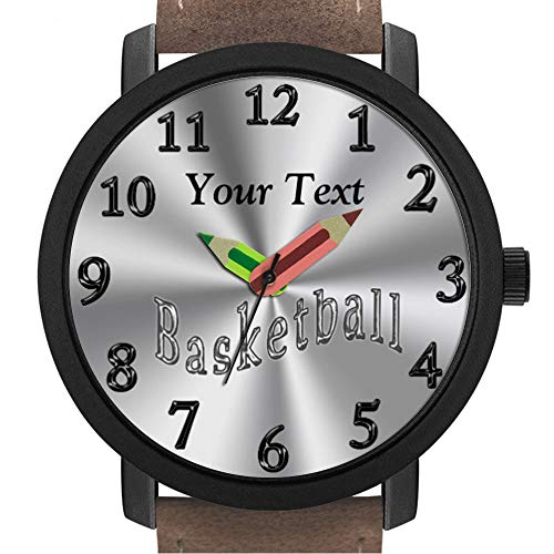 sene | Kinder | Geburtstag | Stilvolle niedliche Armbanduhr mit Bleistift Form Pointer Ornament Geschenk 304.Personalisierte Womens-Uhren, Basketball-Uhren ()
