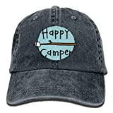U-Only Baseball Cap Happy Camper 2 Men Women Snapback Casquettes Adjustable Baseball Cap