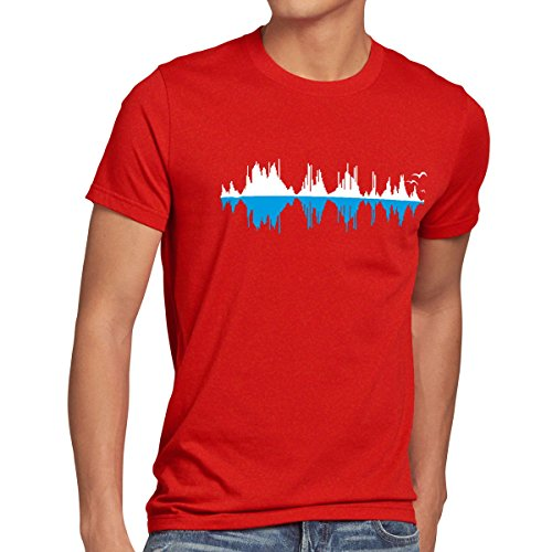 style3-sheldons-city-sound-wave-t-shirt-homme-musique-taillemcouleurrouge