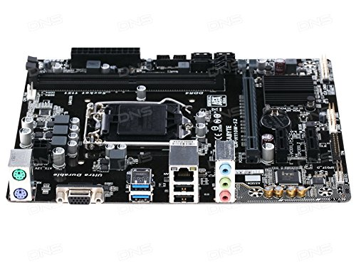 Gigabyte GA-H110M-S2 LGA 1151 6th Gen F20 Updated BIOS Motherboard
