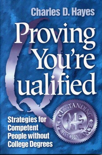 Proving Youre Qualified (English Edition)