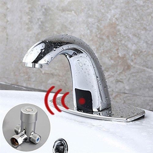 Pumpink Hot & Cold Bad Automatische Touch Free Sensor Armaturen Moderne Messing Wassereinsparung Induktive Elektrische Wasserhahn Mixer Batterie