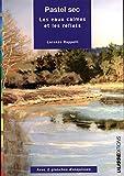 Pastel sec : Les eaux calmes et les reflets